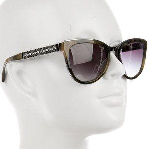 Chanel Cat-Eye Chain Link Sunglasses